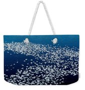 Frost Flakes On Ice - 04 Weekender Tote Bag