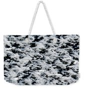 Frost Flakes On Ice - 06 Weekender Tote Bag