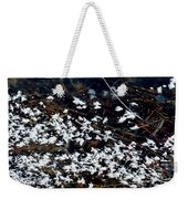 Frost Flakes On Ice - 10 Weekender Tote Bag