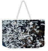 Frost Flakes On Ice - 11 Weekender Tote Bag
