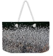 Frost Flakes On Ice - 12 Weekender Tote Bag