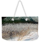 Frost Flakes On Ice - 13 Weekender Tote Bag