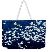 Frost Flakes On Ice - 21 Weekender Tote Bag
