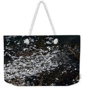 Frost Flakes On Ice - 30 Weekender Tote Bag