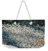 Frost Flakes On Ice - 31 Weekender Tote Bag