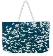 Frost Flakes On Ice - 34 Weekender Tote Bag