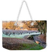 Frost In The Valley Weekender Tote Bag by Bill Gallagher