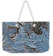 Frost Macro Weekender Tote Bag