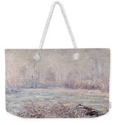 Frost Near Vetheuil Weekender Tote Bag