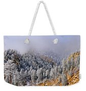Frost On Cat's Feet Came Weekender Tote Bag
