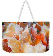 Frost Touched Weekender Tote Bag