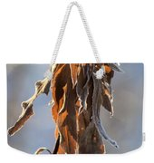Frosted And Wilted Weekender Tote Bag