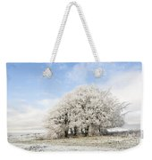 Frosted Copse Weekender Tote Bag by Anne Gilbert
