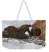 Frosted Double Arch Weekender Tote Bag