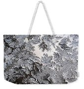 Frosted Glass Abstract Weekender Tote Bag