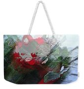 Frosted Hibiscus 2 Weekender Tote Bag