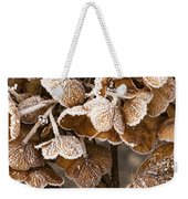 Frosted Hydrangea Weekender Tote Bag