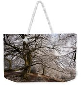 Frosted Path Weekender Tote Bag