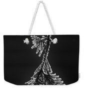 Frosted Pine Branch Weekender Tote Bag