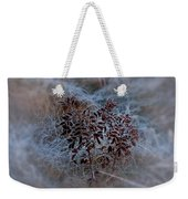 Frosted Rugosa Weekender Tote Bag