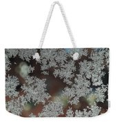 Frosted Window Weekender Tote Bag