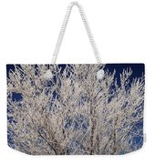 Frosted Wires Weekender Tote Bag