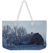 Frosty Barn Weekender Tote Bag