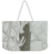 Frosty Branches Weekender Tote Bag