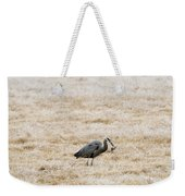 Frosty Dinner Weekender Tote Bag by Mike  Dawson