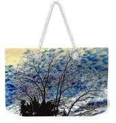 Frosty Fall Tree Weekender Tote Bag