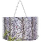 Frosty Morning Song Weekender Tote Bag