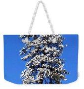 Frosty Pine Weekender Tote Bag