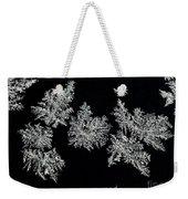 Frosty Snowflakes Weekender Tote Bag