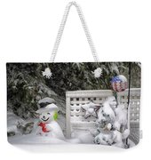 Frosty The Snow Man Weekender Tote Bag
