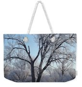 Frosty Trees 3 Weekender Tote Bag