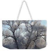 Frosty Trees 4 Weekender Tote Bag