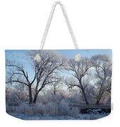 Frosty Trees Weekender Tote Bag