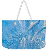 Frosty Window Art Weekender Tote Bag