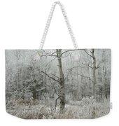 Frosty Wonderland Weekender Tote Bag