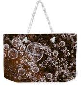 Frozen Bubbles Weekender Tote Bag