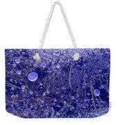 Frozen Bubbles In The Merced River Yellowstone Natioinal Park Weekender Tote Bag