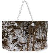 Frozen Dam Weekender Tote Bag