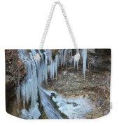 Frozen Eden Weekender Tote Bag