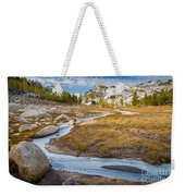 Frozen Enchantments Creek Weekender Tote Bag