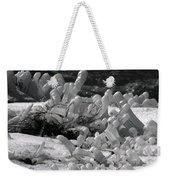 Frozen Falls Tundra Fingers Weekender Tote Bag