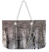 Frozen Forest Floor Weekender Tote Bag