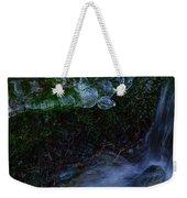 Frozen Garden Stream Weekender Tote Bag