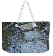 Slippery Stone Path Weekender Tote Bag