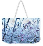 Frozen In Ice Nature Weekender Tote Bag