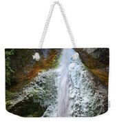 Frozen Marymere Falls Weekender Tote Bag